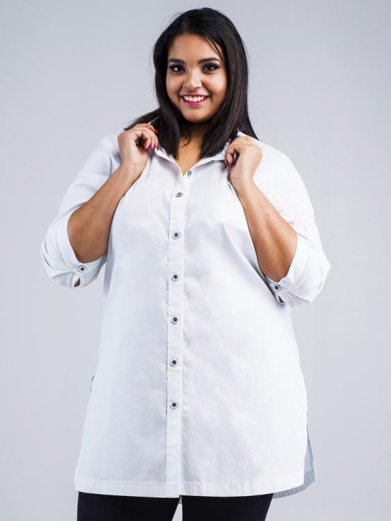 Koszula biała długa
